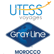 Logo Utess Voyages and Gray Line Morocco